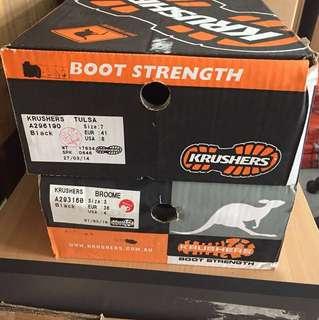 Krusher safety shoe size 7