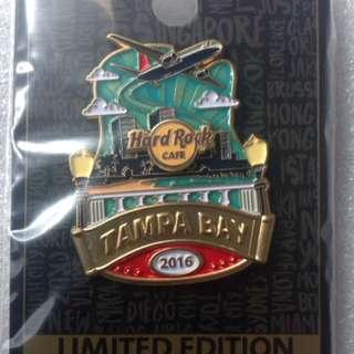 Hard Rock Cafe Pins - TAMPA BAY AIRPORT HOT 2016 ICON CITY SERIES!