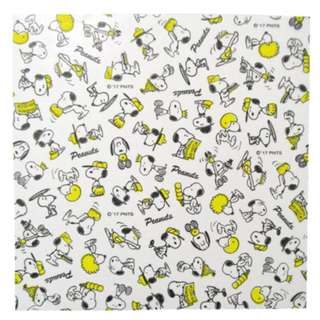 Japan Peanuts Snoopy Glassine Sheets