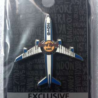 Hard Rock Cafe Pins - TAMPA BAY AIRPORT HOT 2016 KEYBOARD AIRPLANE!