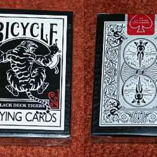 Bicycle Tiger Back Playing Cards