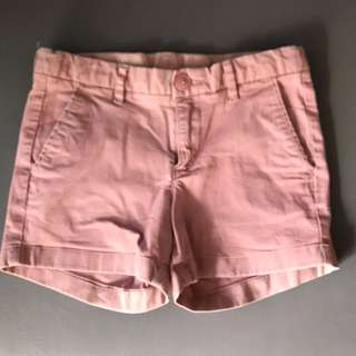 Uniqlo Girl's Pink Shorts