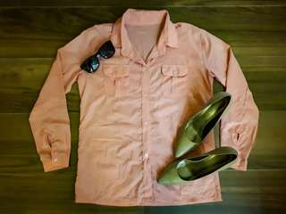Repriced!!! Repriced!!! Longsleeves Outfit- Baby Pink