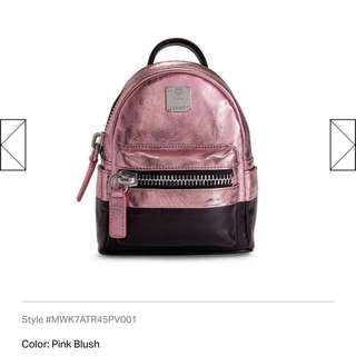 100% new unwanted gift -MCM pink mini backpack (crossbody also ok!)