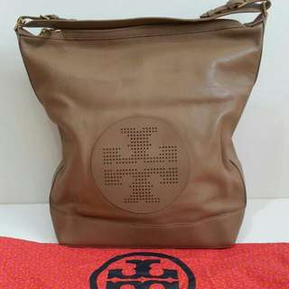 NBU Tory Burch Tote Beige Leather comes with dust bag (40×14×40cm)-l4u