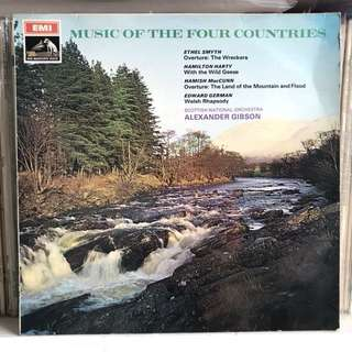 Music of the Four Countries Alexandra Gibson EMI ASD 2400