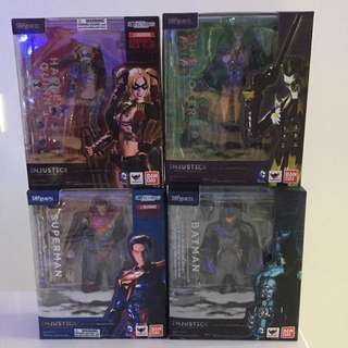 S.H.Figuarts DC Injustice Full Set