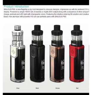 Electric Cigarette Sinuous P80