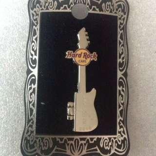 Hard Rock Cafe Pins - LAS VEGAS HOT 2010 INK BLOT SKULL GUITAR!