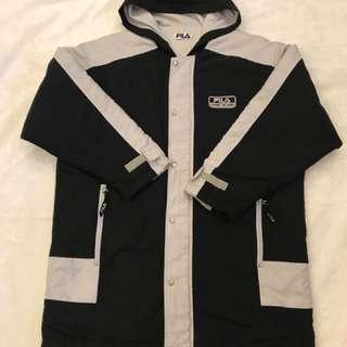 🚚 (全館8折)古著厚款FILA外套