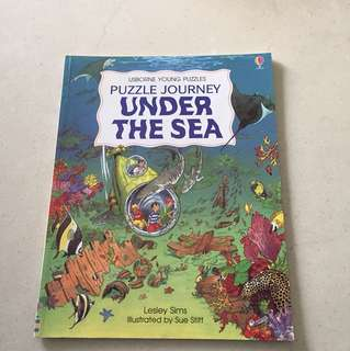 Usborne Young Puzzle - Under the sea