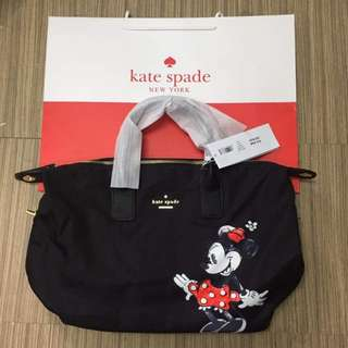 KATE SPADE NEW YORK LYLA WEEKENDER (Minnie Mouse Edt)