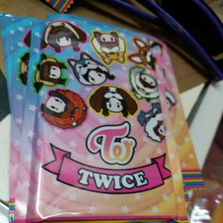TWICE專輯卡(第二期)