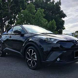Toyota C-HR Hybrid PROMOTION FOR CNY