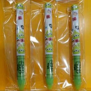 TSUMTSUM Toystory mimi筆 1支(黑+紅)