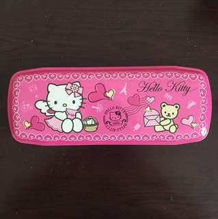Hello Kitty metal pencil box/ case!!