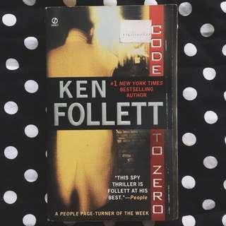 PAPERBACK: Code To Zero by Ken Follett