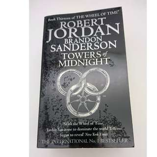 Robert Jordan & Brandon Sanderson's Towers of Midnight (free delivery)