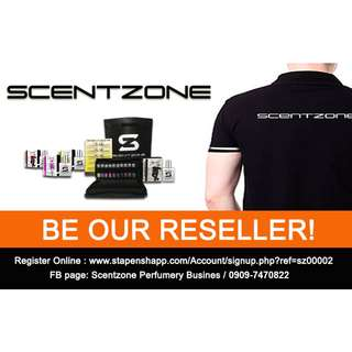 Scentzone is looking for Resellers!