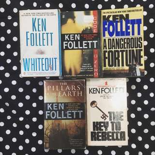 PAPERBACK Bundle: Ken Follett Books