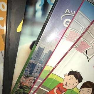 secondary 1 & 2 textbooks