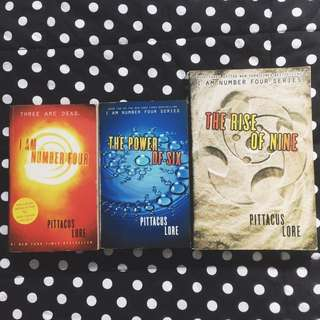 PAPERBACK BUNDLE: I Am Number Four Series by Pittacus Lore