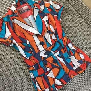 Zara short blazer