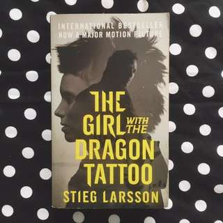 PAPERBACK: The Girl With The Dragon Tatto by Stieg Larsson