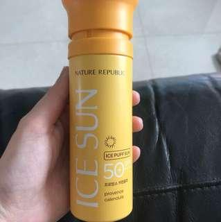 Ice Puff Sun SPF 50
