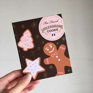Limited Edition Too Faced Gingerbread Cookie Eyeshadow Palette