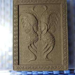Thai Amulet butterfly kruba krissana BLK B BE 2555 TO BE2557