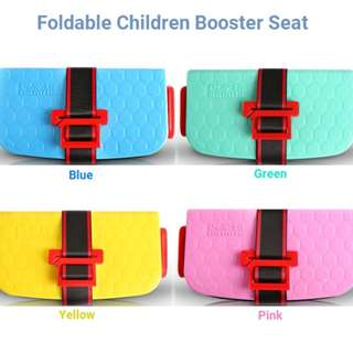 Foldable Child Booster Seat (Instock)