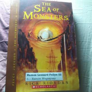 The sea of monsters|percy jackson and the olympians book 2