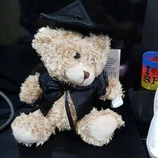 Graduation bear 15cm