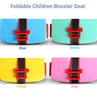 Foldable Children Booster Seat (INSTOCK)