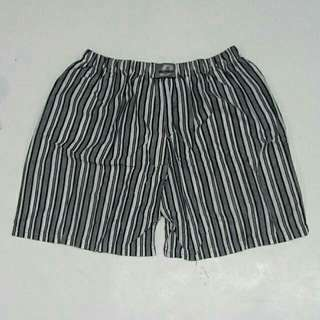Jaybe shop - celana pendek pria motif salur bergaris