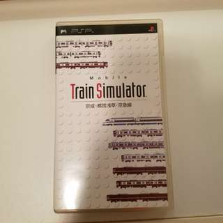 PSP Train Simulator 電車遊戲