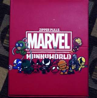 Marvel Munny World Zipper Pulls