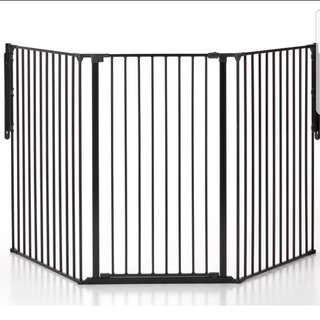Pet Flex Gate System Large/Extra Large and more Extra Tall (Scandinavian Pet Design)