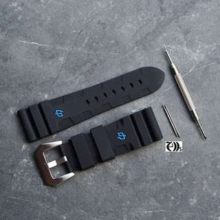 Panerai 616 Carbotech Exclusive Rubber PAM Strap