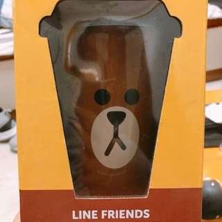 McCafe Line friends熊大咖啡杯