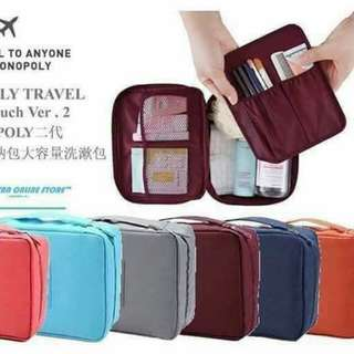 Monopoly travel pouch