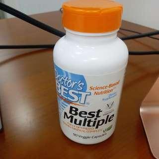 doctor's best best multiple (仲有75粒,exp 6/2018) $20