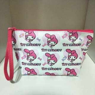 🍊💞CNY 50%TIME SALE!! 🐶(U.P: $15) BRAND NEW!!! MY MELODY INSPIRED COSMETIC POUCH WITH WIDE BASE!!! ONLY 1!! HURRY WHILE STOCK LAST!!  GRAB BEFORE ITS GONE!!!
