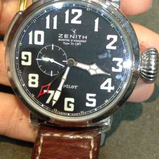 Zenith pilot gmt 48mm Auto 03.2430.693/21.C723