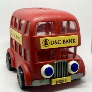D&C Bus Coin Bank (sharing)