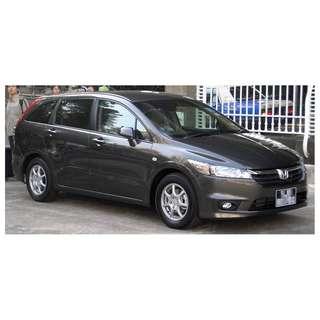 Honda Stream MPV For Uber Grab Personal Usage
