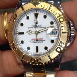 Rolex yacht-master mid size 35mm 68623 T series (~ Year 1996) *ONLY WATCH & Box*