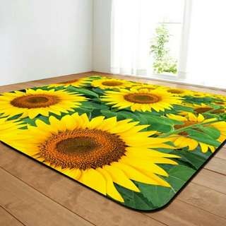 Sunflower carpet rugs