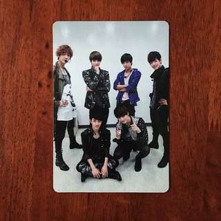 EXO K MAMA OT6 OFFICIAL PHOTOCARD